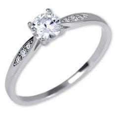 Brilio Silver Srebrni zaročni prstan 426 001 00537 04 srebro 925/1000