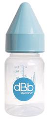 DBB Remond butelka dziecięca PP 120 ml, smoczek kauczukowy NN