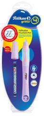 Pelikan Bombičkové pero pro leváky Griffix 4 fialové