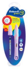 Pelikan Bombičkové pero pro praváky Griffix 4 fialové