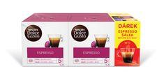 NESCAFÉ kapsułki do kawy Dolce Gusto® Espresso podwójne opakowanie z kubkiem