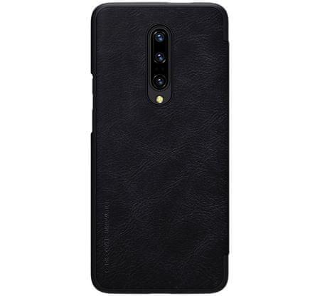 Nillkin Qin Book preklopna kožna torbica za OnePlus 7 Black 2447026, crna
