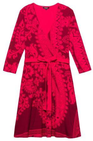 Desigual dámske šaty Vest Marlene XS červená