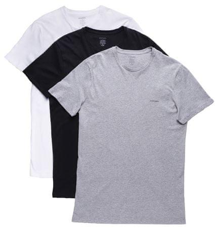 Diesel férfi póló 3 darabos kiszerelésben Jake S színes