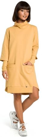 BeWear dámské šaty b089 S žlutá