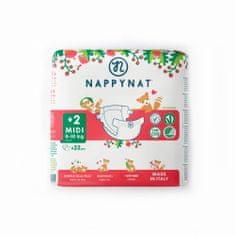Nappynat 2+ Midi (4-10 kg) 22 ks