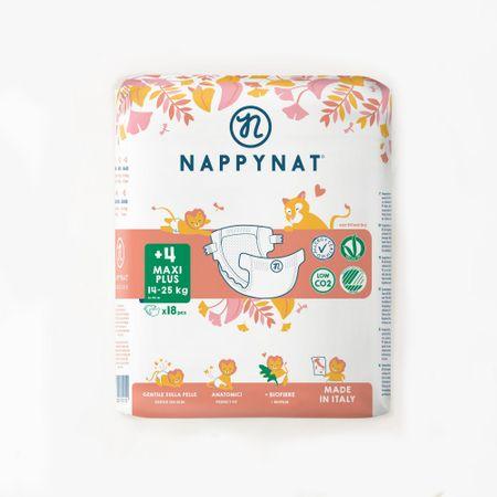 Nappynat plenice 4+ Maxi Plus (14-25 kg) 18 kosov