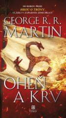 George Martin: Oheň a krv