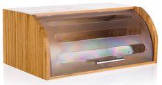Banquet Bambusz kenyértartó 40,5 × 27 × 17 cm, műanyag fedéllel