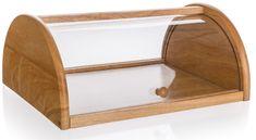 Banquet chlebak drewniany BRILLANTE 36 × 27 × 15 cm