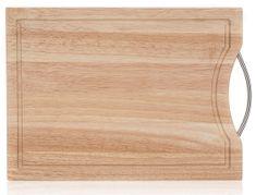 Banquet Brillante lesena deska za rezanje, 30 × 20 cm