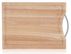 Banquet Brillante lesena deska za rezanje, 34 × 24 cm