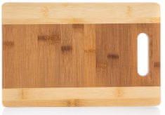 Banquet Brillante deska za rezanje Bamboo, 30 × 20 × 1,5 cm
