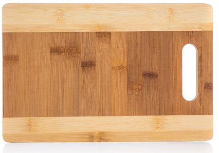 Banquet Doštička krájacia drevená BRILLANTE Bamboo 30 × 20 × 1,5 cm
