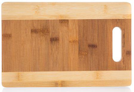 Banquet Brillante deska za rezanje Bamboo, 38,5 × 29 × 1,5 cm