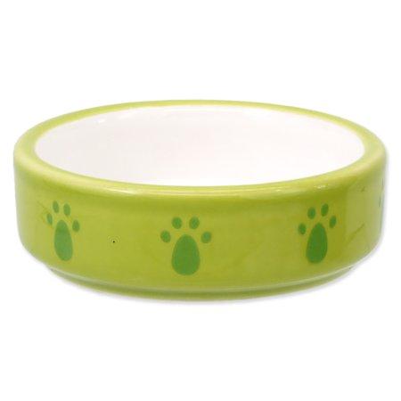 SMALL ANIMAL keramična posoda za hrčka, zelena, 8,5 cm