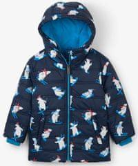 Hatley chlapecká zimní bunda s ledními medvědy na lyžích