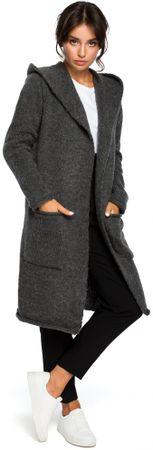 BeWear BK016 ženska jopica, univerzalna velikost, siva