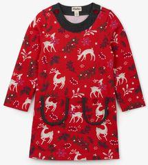 Hatley dievčenské šaty s lesným vzorom