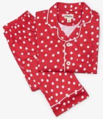 Hatley lány pizsama pöttyös