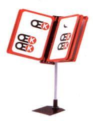 Polidar Plakátový listovací stojan Infoline 5 x A4 401