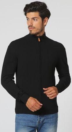William de Faye moški pulover WFM13, XXL, črn