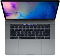 Apple MacBook Pro 15 prenosnik, Space Gray - INT KB (mv902ze/a)
