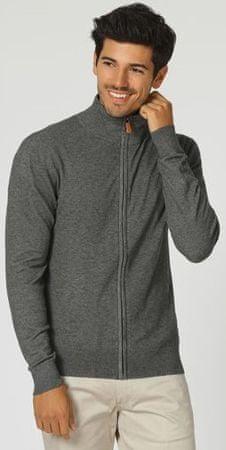 William de Faye moški pulover WFM13, XXL, siv