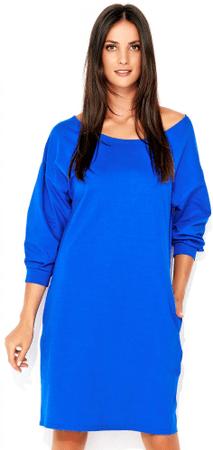 Numinou dámske šaty NU_nu129 36 modrá