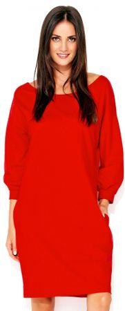Numinou dámske šaty NU_nu129 42 červená
