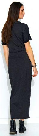Numinou NU_nu178 ženska obleka, 36, siva