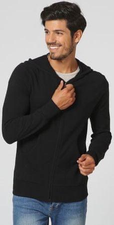 William de Faye moški pulover BO104, XXL, črn