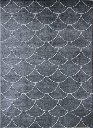 Berfin Dywany Kusový koberec Elite 17390 Grey 120x180