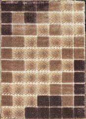 Berfin Dywany Kusový koberec Seher 3D 2615 Brown Beige