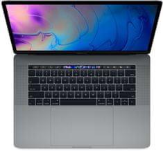 Apple MacBook Pro 15 prenosnik, Space Gray - INT KB (mv912ze/a)