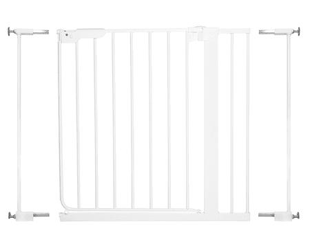 BabyDan Danamic 73-93,5 cm biztonsági ajtórács toldóval együtt, fehér