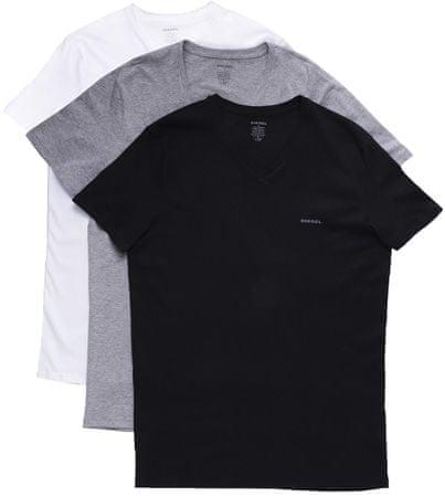 Diesel potrójne opakowanie koszulek męskich Jake XL wielokolorowe