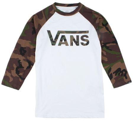 Vans Vans Classic Raglan fantovska majica, bela, S