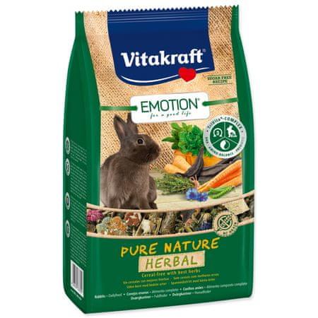 Vitakraft Emotion veggie králík 600 g