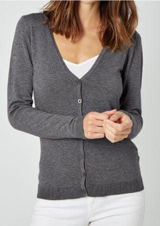 William de Faye ženski pulover WF311, XXL, svetlo siv