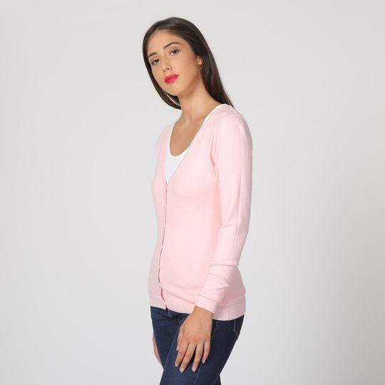 William de Faye dámský svetr WF311_1 M světle růžová