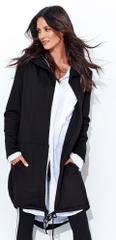 Numinou NU_nu95 ženska duga majica s kapuljačom