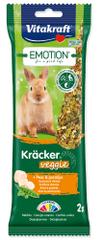 Vitakraft Tyčinky Emotion Kracker Veggie pre králikov 120 g