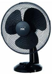 Miatec VLO3016S, namizni ventilator, črn