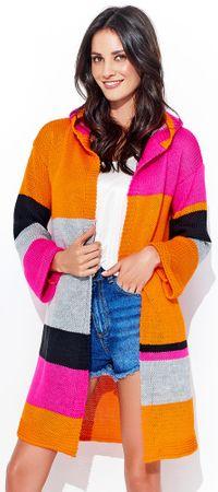 Numinou dámsky sveter NU_s33 uni oranžová