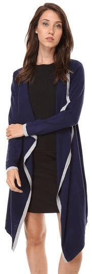 William de Faye dámský kardigan ASF199 XXL tmavě modrá