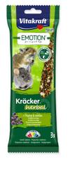 Vitakraft Tyčinky Emotion Kracker Herbal pre malé hlodavce 3 ks