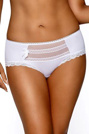 Ava Női alsónemű 995 white + Nőin zokni Sophia 2pack visone, fehér, L