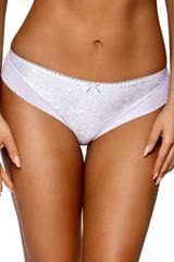 Ava Dámské kalhotky 1740 Jacquard plus white