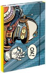 BAAGL teczka na zeszyty szkolne A4 Spaceman